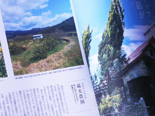 カーサブルータス,,Casa Brutus,記事掲載、藏光農園