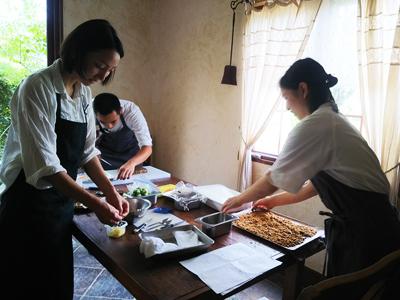 南高梅,料理,villa aida,西尾萌美