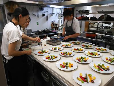 南高梅,料理,villa aida